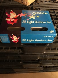 black and red LED projector box 566 km