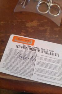 Home Depot card 166.00$ selling for 120.00 Woodstock, N4S 3Z6