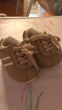 0-6m brown-and-white shoes Vaughan, L4L 5B8