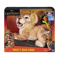 Fur rebellion king the lion king mighty roar simba interactive plush  Toronto, M3C 1A1
