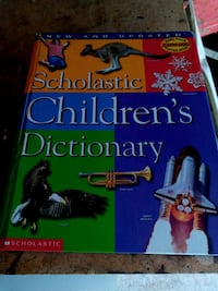 Scholastic Childrens Dictionary Guelph, N1H 7L7