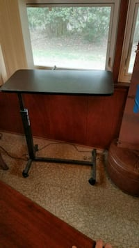 Over Bed Table Hospital Rolling Tray Adjustable  215 mi