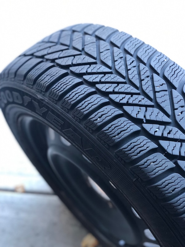 4 Winter GoodYear Tires with rims