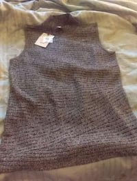 New grey sweater. Never worn. Salina, 67401