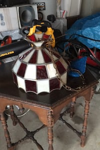 Hanging Tiffany lamp no cracks works good $80 Alsip, 60803
