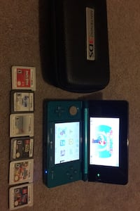 Nintendo 3ds with case charger and 7 games Waldorf, 20603