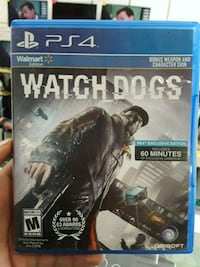 Watch Dogs PS4 game case Temple Hills, 20748