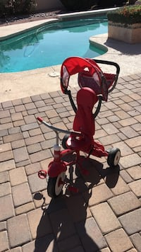 Toddler's red and white radio flyer trike Mesa, 85202