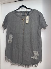 Distressed Shirt (L) Surrey, V3V 6C3