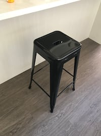 New Black metal bar stools Vancouver, V5L 1Z4