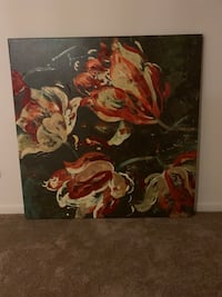 red and yellow petaled flower painting Norfolk, 23505