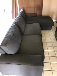 gray fabric 2-seat sofa Washington, 20024