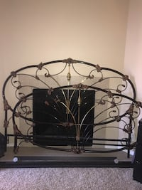 Wrought iron King size head and foot board Colorado Springs, 80917