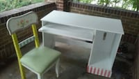 white wooden desk with chair Denver, 80210