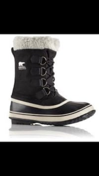 BRAND NEW. WINTER SHOES. WOMEN SOREL BRAND.(BRAND NAME). 6 to 10 sizes available . BLACK .FEW LEFT!! Mississauga, L5B