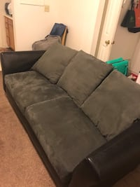 Gently used black and grey couch. $75 OBO Washington, 20024