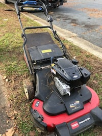"Toro Personal Pace 30"" commercial mower with 5 hrs on new engine Bowie, 20716"
