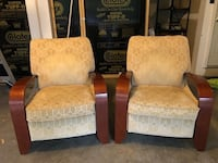 Two Lazboy Reclining Chairs Richmond