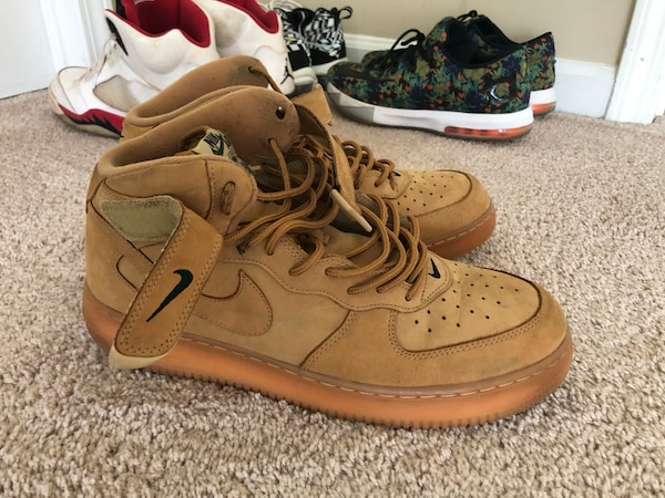 more photos 89b46 ca1bb Nike sneakers AF1 mid flax 12.5