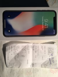 iPhone X 256gb Silver Bari, 70126