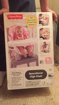 Baby's pink and white summer infant bather box Arlington, 22207
