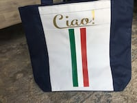 Italy beach bag with ciao! Italy flag and lemons Anmore, V3H