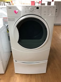 Kenmore white dryer with pedestal  Woodbridge, 22191