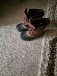 Genuine leather size 7 winter boot -45 degrees