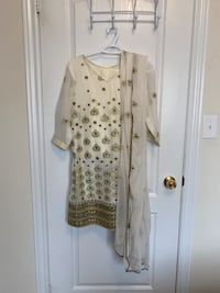 NEW Indian Suit with Pants & Dupatta