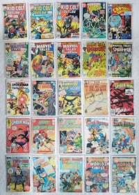 50 comics from late 1970s / early 80s Mount Airy