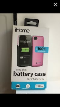 Ihome ultra slim battery case - iPhone 4 & 4S