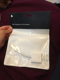 DisplayPort to DVI Adapter in packaging new