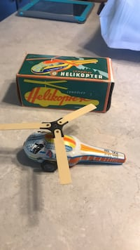 friction toy Helicopter