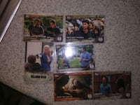 four assorted football trading cards San Antonio, 78207