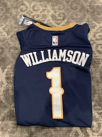 ZION WILLIAMSON NEW ORLEANS PELICANS SIZE 44/48 BASKETBALL JERSEY New York, 10019