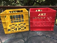 Sturdy plastic crates. $10 for both or $5 each Gaithersburg, 20878