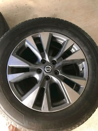 Nissan Murano rims and tires  Ragley, 70657