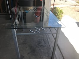 Glass Table Excellent condition