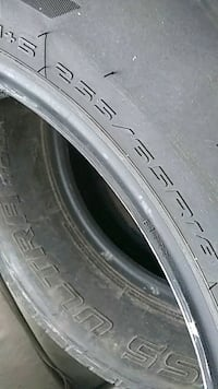 Used Truck tires 18in tires 3 (255/65/18) Columbus