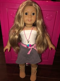 american girl doll with long blonde wavy, freckles and brown eyes Brampton, L7A 1K7