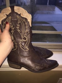 Brand New Dark Brown Cowgirl Boots