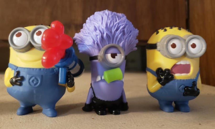 Minions & Angry Birds McDonal's Toy's some opened  73fa24f6-8c51-48d9-90ce-776f2ce7c515