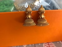 Gold plated earrings $10 each Toronto, M5V 4B1