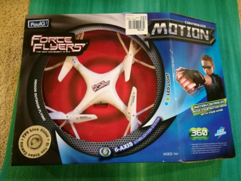 Motion controlled FPV drone toy gift 1