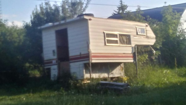 Project or parts camper