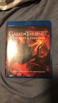 Game of Thrones Conquest   of Rebellion Blu-Ray DVD Los Angeles, 91344