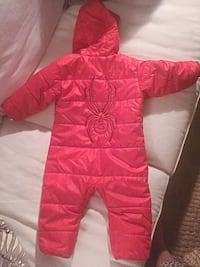 Spyder Red Snowsuit - 18 mo