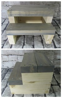 New Rustic Farmhouse Steps (Gray Stain) Mission
