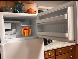GE Refrigerator with Ice Maker