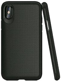 iPhone X Case, Black, Drop Proof